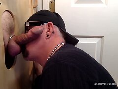 Baseball Player Gets Gloryhole Sucked  scene 2