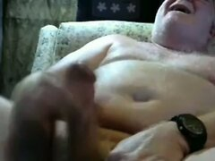 grandpa cum on webcam  scene 2