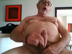 grandpa cum on webcam  scene 4