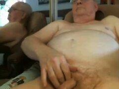 grandpa cum on webcam  scene 5