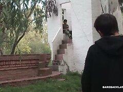 Latinos Antonio and Erick Fuck Bareback  scene 2