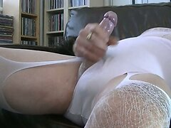 Cumming all over my knickers