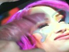 Sasha Banks CUM tribute 2