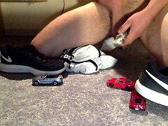 giant cum toy car domination macro