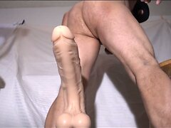 FUCKING MY HOLE WITH HUGE DILDOS COMPILATION