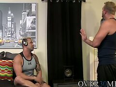 Josh filled all Kalebs needs and holes with big hard cock