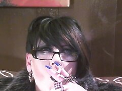 Closeup Fur Smoking
