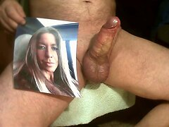Tribute for raul82 - huge creamy load on her mouth