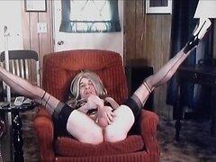 Carol C. Legs Up All Aquiver Stroke Off