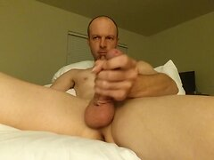 Stroking this dick