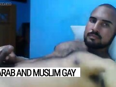 Muslim Arab jock jerking off for gay viewers - Arab Gay