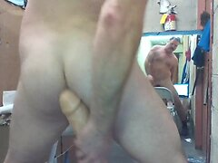 Joey D playing with toys anal funhouse