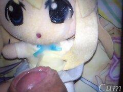 No Clean SOP Tsumugi 03-20 cumming 18 times on anime plushie