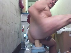 Joey D buzzed and anal bating cute butt 1