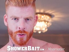 ShowerBait - Paul Cannon Gets His Tight Ass Pounded