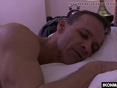 Horny bi stepdad seducing her stepson