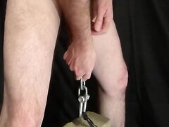 CBT - 20lbs Weight from my balls