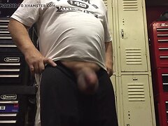 Huge balls cum slap