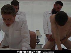 mormonboyz - Handsome cult leader fucks quiet submissive boy