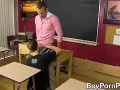 Hot ass student gets hammered deeply by big dick teacher