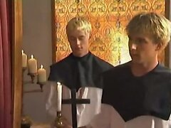 Hot priest fucked in the ass
