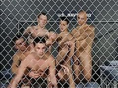 Gay orgy in the jail