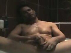 Manly dude likes to masturbate