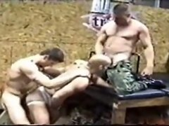 Rough and hard group sex action
