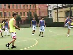 Footballer Bareback