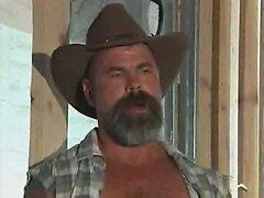 Vintage cowboys sucking fucking