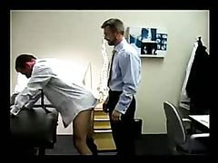 Doctor ass fucks a patient