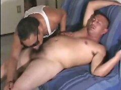 Chubby gay Asian amateur oral