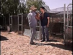 Cowboy Daddy Fucks Trespasser