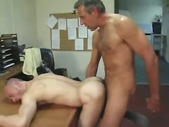 daddy fuck guy in office