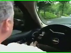 Jack Off In the Car