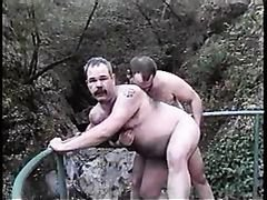 Slutty bear daddies use sex toys