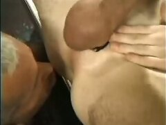 Rimming asses and sucking cock