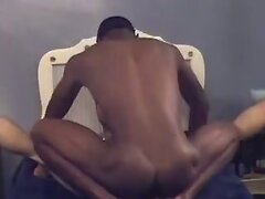 Interracial hard body amateur fucking