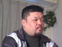 Japanese mature blowjob and fuck