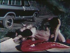 Retro gay porn with hitchhiker