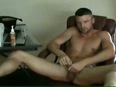 Hot naked cowboy webcam show