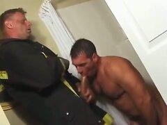 Firemen Use The Pole 2