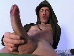 Ricky's 25 cm cock cumshot