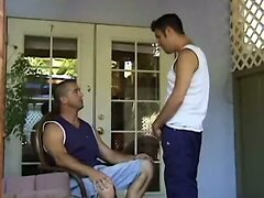 Handsome guy fucks his father's best friend