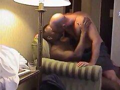 Hardcore inrerracial sex in a hotel