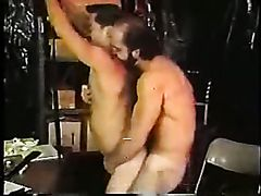 bearded older dadDY whip assplay BOY bare FUCK